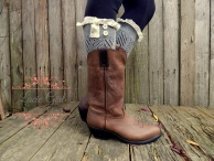 Cute gray boot cuff!!!! - Lacie girl