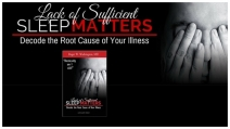 Lack of Sufficient SLEEP MATTERS #Giveaway - Roger W. Washington, M.D.