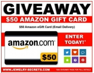 Amazon Gift Card Giveaway - Jewelry Secrets