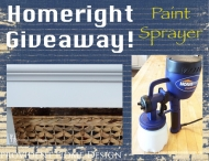 Homeright Finish Max Fine Finish Paint Sprayer Giveaway! - Provident Home Design
