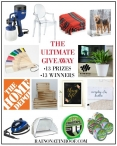 My Favorite Things Giveaway - Rain on a Tin Roof