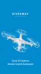 Remote Control Quadcopter Giveaway - Finagle