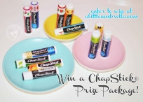 ChapStick Prize Package 2/22 - ChapStick