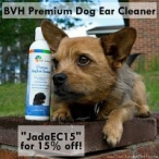 BVH Pet Care Premium Dog Ear Cleaner Giveaway - The Chesnut Mutts & BVH Pet Care