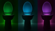 Enter for a chance to win TWO Illumibowl Motion-Activated Toilet Night Lights - DarnKid