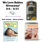 We Love Babies Giveaway ends 5/31 - IMHO Views Reviews and Giveaways