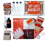 Gourmet Hot Sauce Making Kit Giveaway - Get Kombucha