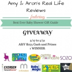 Baby Shower Gift Guide Giveaway - Baby Magic, SOZO, Stephen Joseph, Petite Namaste, Exergene, Milk Makers, Happi Tummi, and more