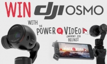Win DJI Osmo Handheld 4K Camera - PowerOfVideo