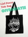 Limited-Edition Girl Power Tote Bag Giveaway - lolawho.com