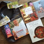 Calphalon Saut� Pan + 4 Gift Cookbooks Giveaway - The Recipe Renovator