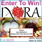 Ixora Botanical Beauty Skin Care Set Giveaway - Your Life After 25