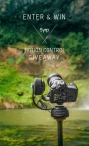Win Syrp Pan Tilt Kit a Syrp Genie Mini and a Magic Carpet slider filmmaking gear - Syrp