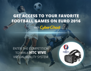Win an HTC Vive VR headset - CyberGhost