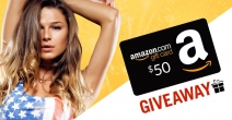 $50 Amazon Gift Card Giveaway - Knockout Magazine