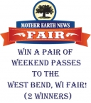 West Bend WI Mother Earth News Fair Weekend Passes - Mother Earth News Fair