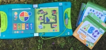 LeapFrog LeapStart Interactive Learning System Giveaway - One Smiley Monkey