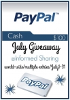 Informed Sharing - $100 Giveaway - Informed Sharing