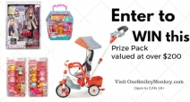 5-in-1 Deluxe Ride & Relax Trike Giveaway - One Smiley Monkey