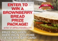Brownberry Bread Prize Package 7/26 - Brownberry Bread