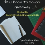 $100 PayPal Back to School Giveaway ends 8/03 - Candy Crush & Snowman Butts