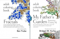 2 Gorgeous Adult Coloring Books 8/2 US & CAN - Adult Coloring 101