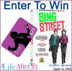 Sing Street DVD + $25 iTunes Giveaway - Your Life After 25