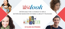 Take A New Look Sweepstakes - Unilever & Albertsons