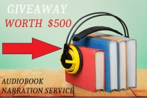 $500 Worth FREE Audiobook Narration Service for Authors - Happy Self Publishing