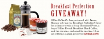 Enter to Win Breakfast Perfection! - www.gilliescoffee.com/