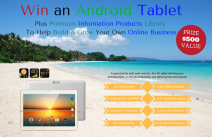 4G Android Tablet & Business Information Products $500 Prize Value - Appz That Rock