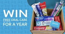 Win an Entire Years Worth of Toothbrushes Toothpaste and Floss for the Whole Family! Valued at over $160! - Gleam