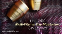 The 24K Multi-Vitamin Day Moisturizer Giveaway - OROGOLD Cosmetics