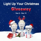 LOFTEK & SANSI Light up Your Christmas Giveaway - LOFTEK&SANSI