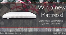 Luxi Mattress Giveaway - Luxi