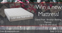 Brooklyn Bedding Mattress Giveaway - Brooklyn Bedding