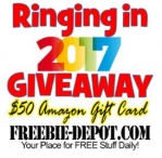 Freebie Depot - Ringing in 2017 Giveaway - Freebie Depot