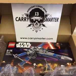 Win LEGO Star Wars X-Wing Fighter + Gift Card - CarrySmarter