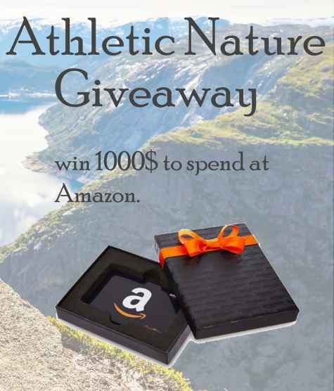 Win a $1000 Amazon Gift Card - AthleticNature