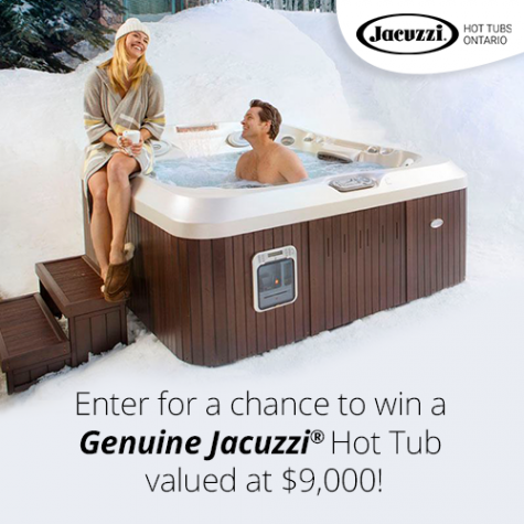 Win a Genuine Jacuzzi Hot Tub - Jacuzzi Hot Tubs Ontario