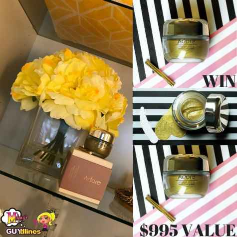 Win $995 Adore Cosmetics Golden Touch Magnetic Facial Mask: Look Like A Million Bucks - Melanysguydlines