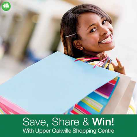 Win a $3000 Shopping Spree Weekly $50 Gift Cards - Upper Oakville Shopping Centre
