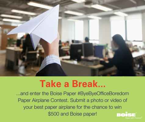 $500 Visa Gift Card And Boise Paper Contest - Boise Paper