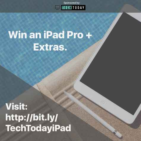 Win an all new iPad Pro Apple Pencil and Apple Smart Keyboard! - TechToday.io