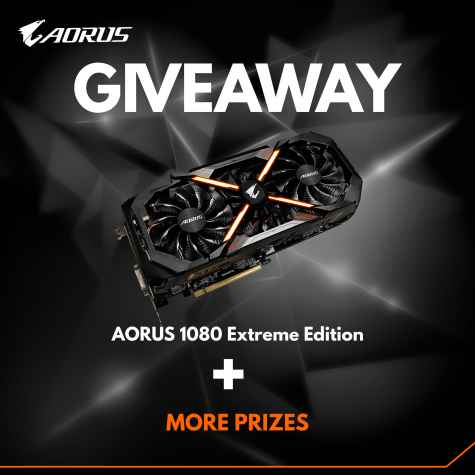 Win Gigabyte Aorus GTX 1080 Extreme Edition Graphics Card - Gigabyte