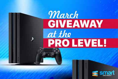 Win Sony PlayStation 4 Pro Gaming Console - SmartDNSProxy