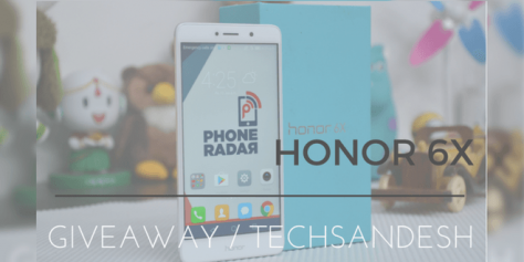 Win Huawei Honor 6X Smartphone - Techsandesh