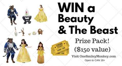 Beauty And The Beast Gift Basket Giveaway - One Smiley Monkey