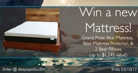 Bear Mattress Giveaway - Sleepopolis