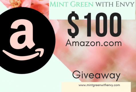 $100 AMAZON.COM Gift Card - Mint Green With Envy